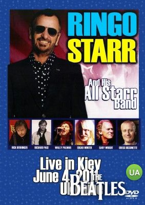 Продам 2DVD set Ringo Starr and his All Starr Band - Live in Kiev