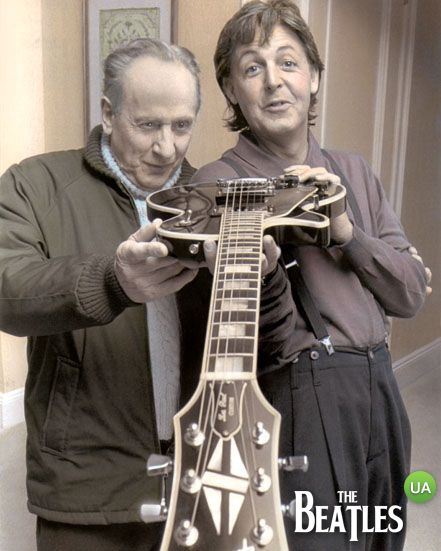 Les Paul & Sir Paul McCartney
